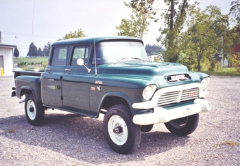 1957 GMC Short Stepside